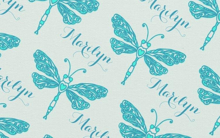 Tissu personnalisé Spoonflower - Artigina