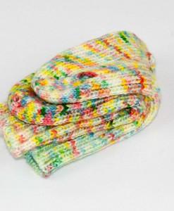 Bas de laine pour enfants Confetti (paire) | Fait main Artigina