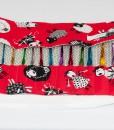 Étui à crochets long moutons (intérieur fermé) | Fait main Artigina
