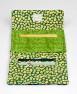 Porte-monnaie pour femme vaches et épis de maïs (intérieur) | Fait main Artigina