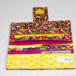 Portefeuille pour femme bonbons (intérieur)   Fait main Artigina