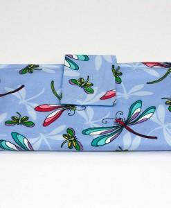 Portefeuille pour femme libellules | Fait main Artigina