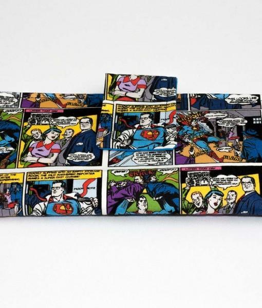 Portefeuille pour femme Superman | Fait main Artigina