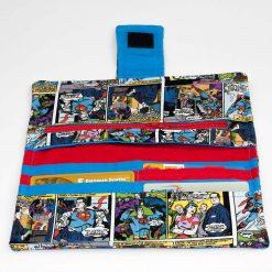 Portefeuille pour femme Superman (intérieur)   Fait main Artigina