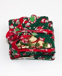 Sous-verre identificateur souris de Noël vert | Fait main Artigina