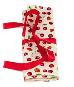 Étui à crochets petits fruits - Artigina