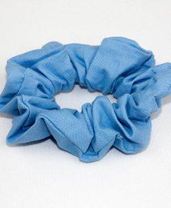 Attache à cheveux bleu