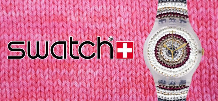 Montre Swatch Tricotime - Artigina