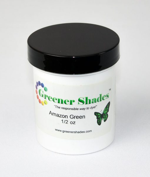 Teinture à laine Greener Shades (Amazon Green) - 1/2 oz