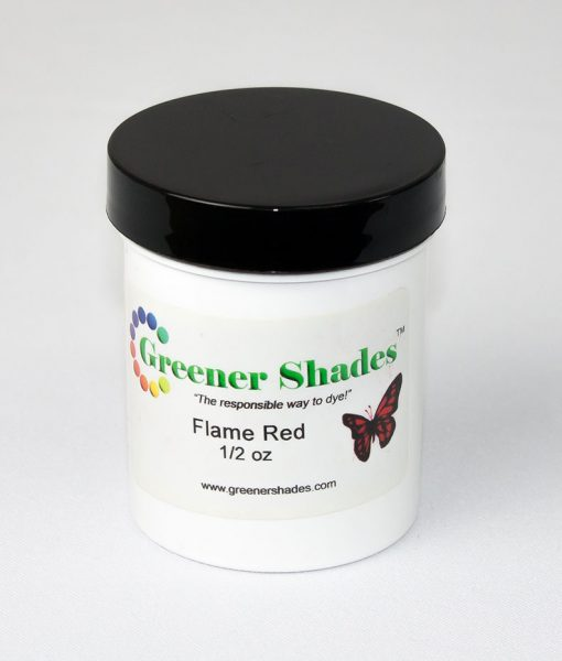 Teinture à laine Greener Shades (Flame Red) - 1/2 oz