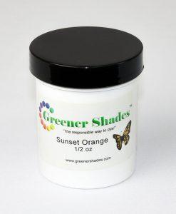 Teinture à laine Greener Shades (Sunset Orange) – 1/2 oz