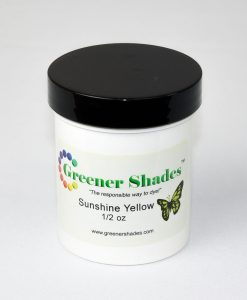 Teinture à laine Greener Shades (Sunshine Yellow) - 1/2 oz