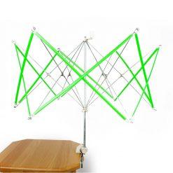 Parapluie (dévidoir) à laine en plastique vert - Artigina