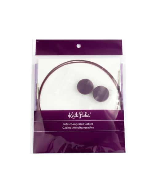 Câble interchangeables pour aiguilles circulaires Knit Picks
