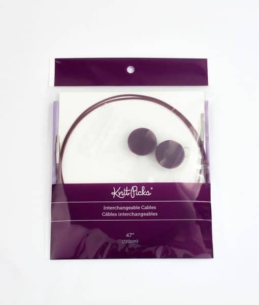 Câble pour aiguilles circulaires Knit Picks - 120 cm
