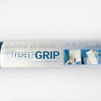 Clear Grip - Papier antidérapant pour règles de coupe UNIQUE