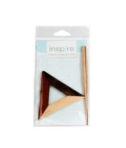 Épingle en bois pour châle (triangle) INSPIRE