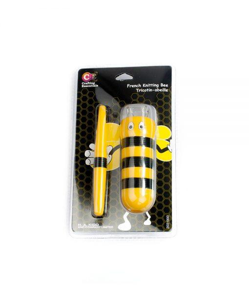 Tricotin pour enfant en forme d'abeille