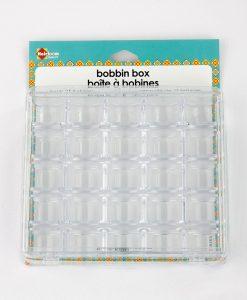 Boîte de rangement pour canettes de fil