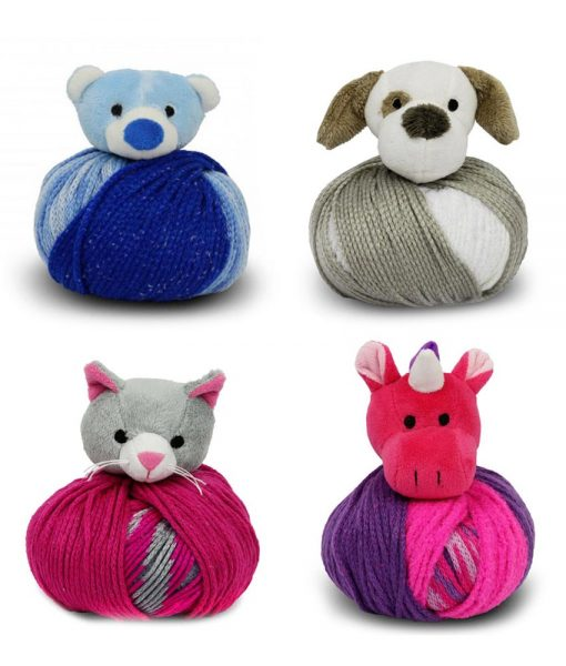 Tuque Top This! - Ourson, chien, chat, licorne