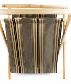 Panier à tricot pliant en bois