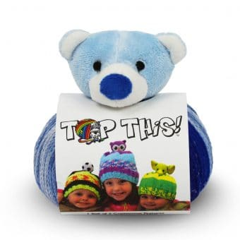Tuque Top This! - Pompon Ourson