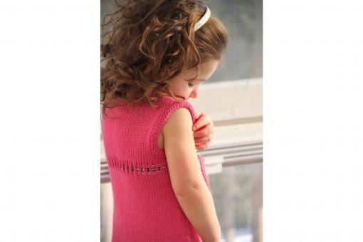 Patron de tricot Barbapapa - Robe pour fillette - À la maille suivante (03)
