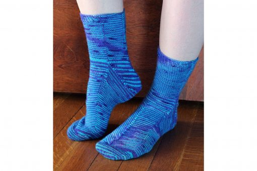 Patron de tricot - Bas Celestial socks - À la maille suivante (03)