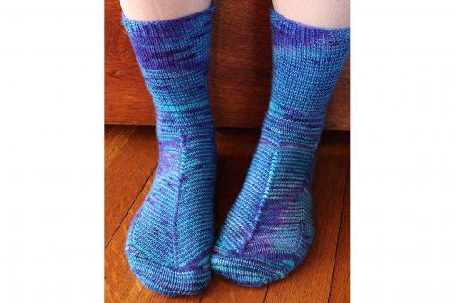 Patron de tricot - Bas Celestial socks - À la maille suivante (05)