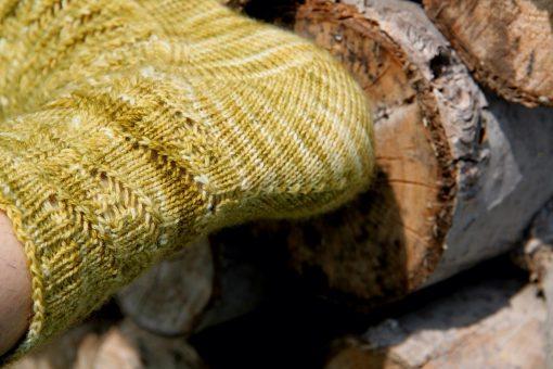 Patron de tricot - Bas Migration - À la maille suivante (03)