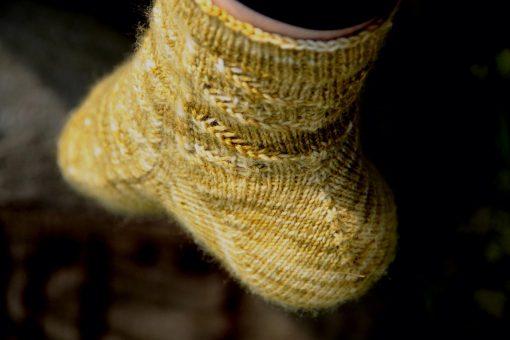 Patron de tricot - Bas Migration - À la maille suivante (06)