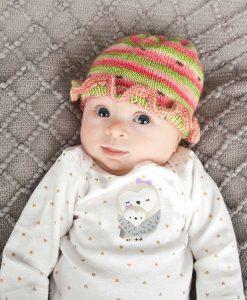 Patron de tricot Bébé melon - Bas - À la maille suivante (02)