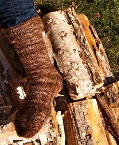 Patron de tricot Corde de bois - Bas - À la maille suivante (02)