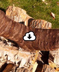 Patron de tricot Corde de bois - Bas - À la maille suivante