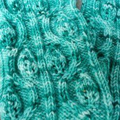 Patron de tricot - Bas, La valse des feuilles - L'Univers d'une tricoteuse (04)