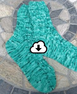Patron de tricot - Bas, La valse des feuilles - L'Univers d'une tricoteuse