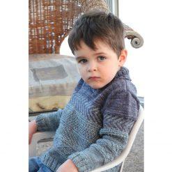 Patron de tricot Peter & Wendy - Chandail pour garçon et fille - À la maille suivante (02)