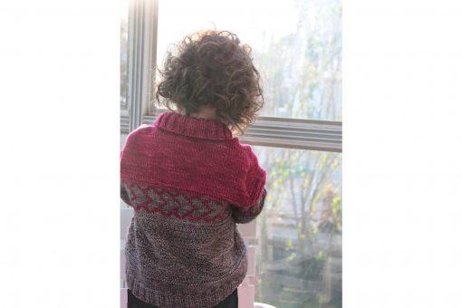 Patron de tricot Peter & Wendy - Chandail pour garçon et fille - À la maille suivante (04)