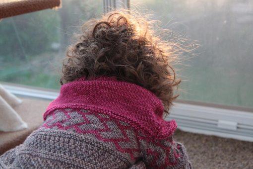 Patron de tricot Peter & Wendy - Chandail pour garçon et fille - À la maille suivante (06)