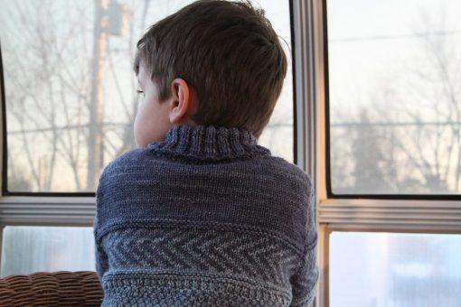 Patron de tricot Peter & Wendy - Chandail pour garçon et fille - À la maille suivante (07)