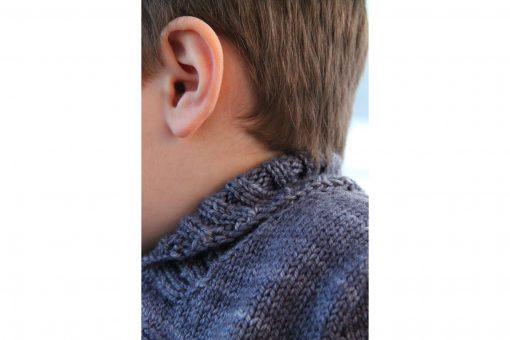 Patron de tricot Peter & Wendy - Chandail pour garçon et fille - À la maille suivante (08)