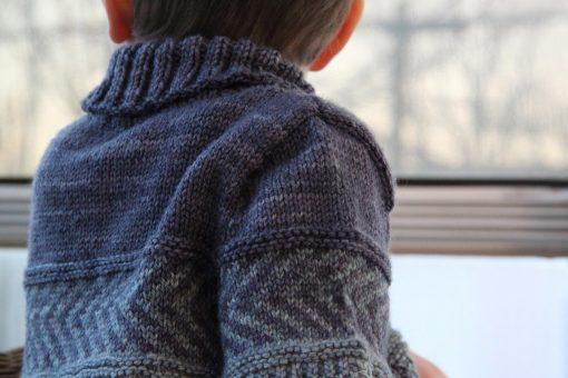 Patron de tricot Peter & Wendy - Chandail pour garçon et fille - À la maille suivante (09)