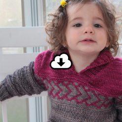 Patron de tricot Peter & Wendy - Chandail pour garçon et fille - À la maille suivante