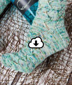 Patron de tricot Poisson d'avril - Bas - À la maille suivante