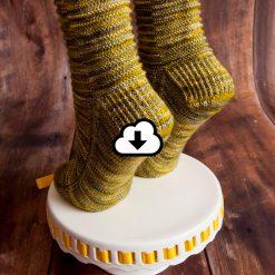 Patron de tricot Renaissance - Bas - À la maille suivante