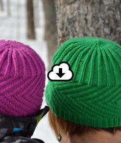 Patron de tricot - Tuque Balise - À la maille suivante