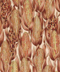 Tissu aux motifs d'épis de maïs - Artigina