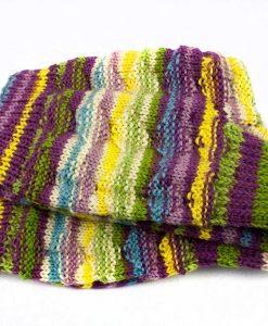 Bas de laine pour femme - Rayures moelleuses