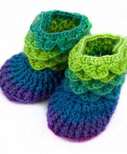 Pantoufles pour bébé (nylon) - Pegase V2 (angle)