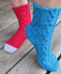 Patron de tricot - Bas du fleuve de l'Univers d'une tricoteuse - Isabelle Allard - Artigina